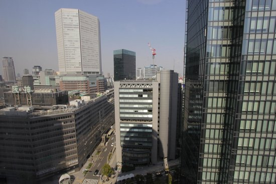Osaka Daiichi Hotel: View from the room