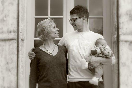 Clos Marcamps : Laure, Alexandre et Hermine