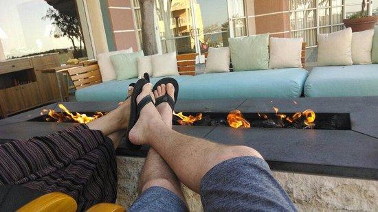 Loews Coronado Bay Resort: Toasty toes