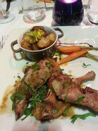 Le Bistrot Gourmand: L'agnello con patate...... 30€