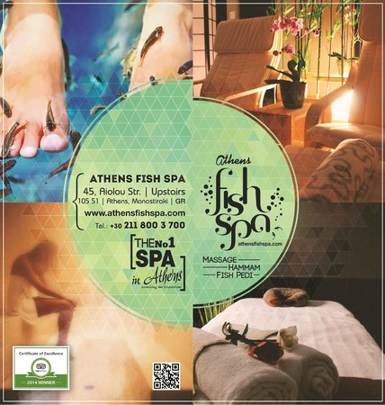 Athens Fish Spa Massage & Hammam: Athens Fish Spa - The no 1 spa in Athens