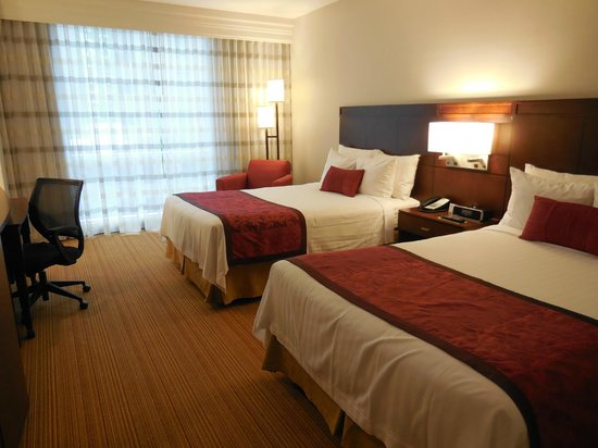 Courtyard by Marriott Mexico City Airport: Courtyard Mexico City Airport Twin Room
