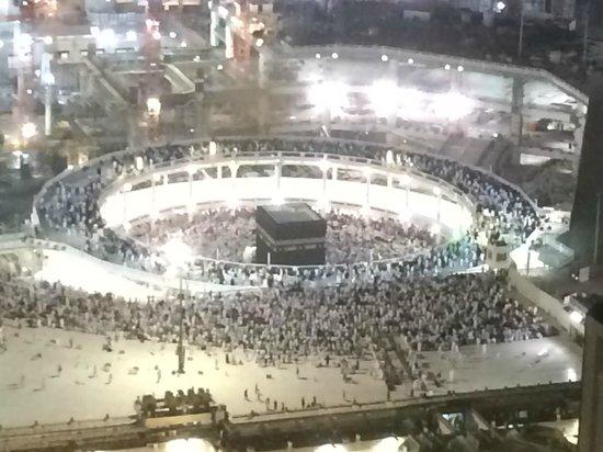 Swissotel Makkah : Kabba View Room Night View