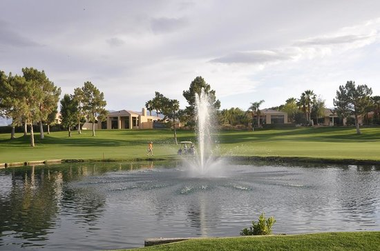 The Westin Mission Hills Golf Resort & Spa: Wonderful view across the fountain