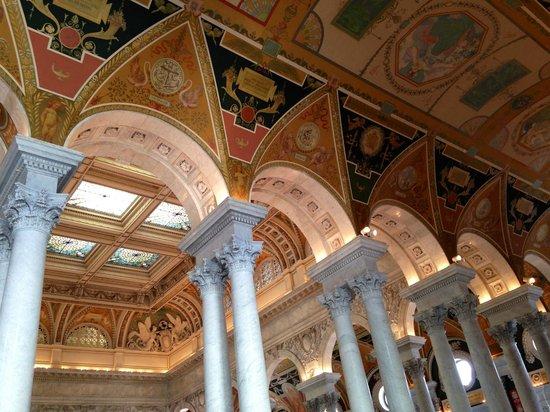 Bibliothèque du Congrès : Beautiful decor