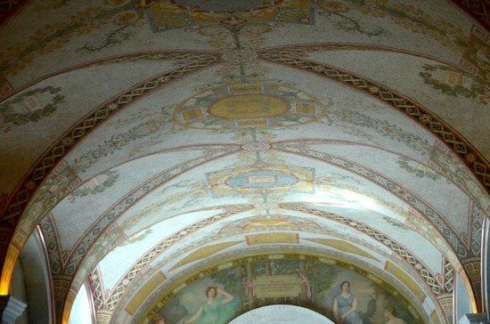 Bibliothèque du Congrès : Beautiful Ceilings!