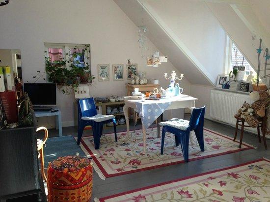 Salomon's Room: La living room dell'appartamento