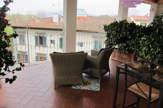 Hotel David : balcony on the 3rd floor