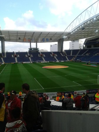 Estádio do Dragão: gradas