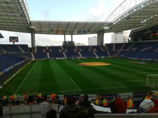 Estadio do Dragao: cesped
