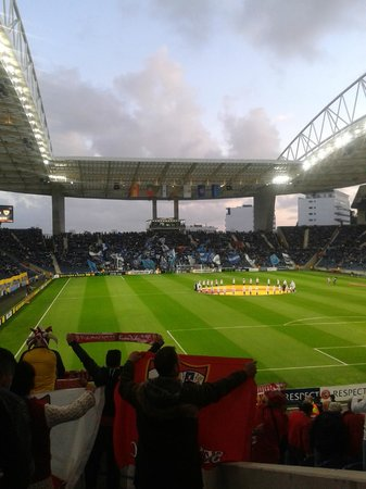 Estadio do Dragao: aficcion