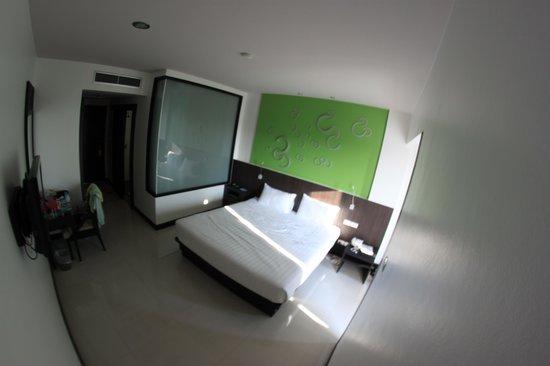 The BluEco Hotel: Номер