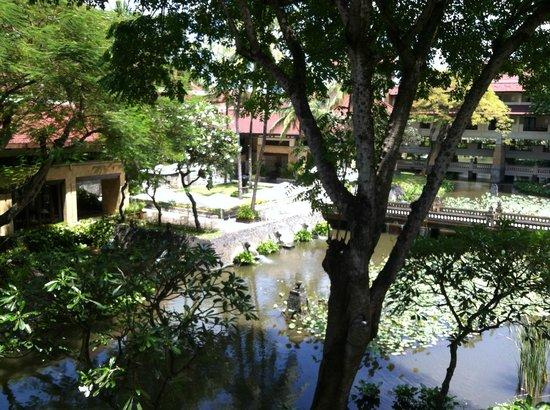 INTERCONTINENTAL Bali Resort: blick vom balkon