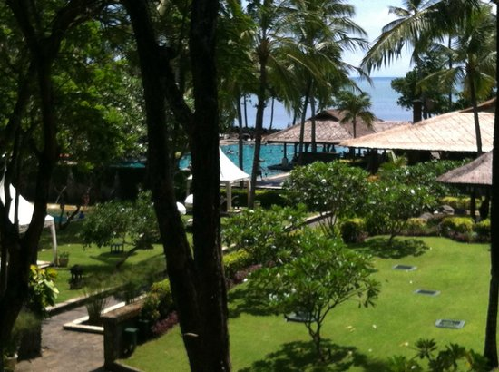 INTERCONTINENTAL Bali Resort: zimmerblick
