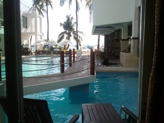 Boracay Ocean Club Beach Resort: Zimmerausblick