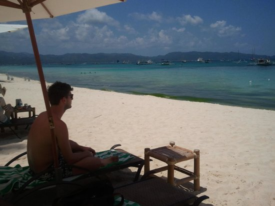 Boracay Ocean Club Beach Resort: Hotelstrand