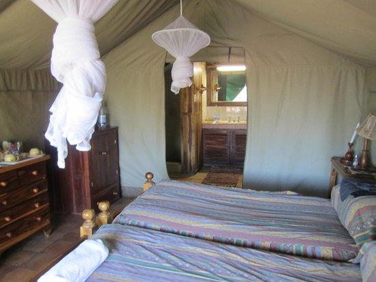 Antelope Park: Inside the river tent