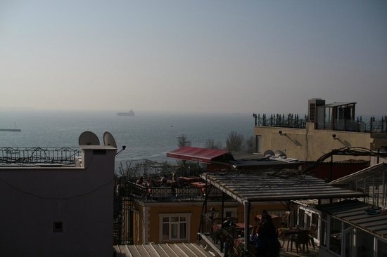 Hanedan Hotel: view from terrace2