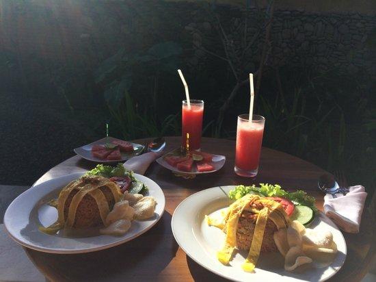 Pajar House Ubud : Pajar's Nasi Goreng, breakfast