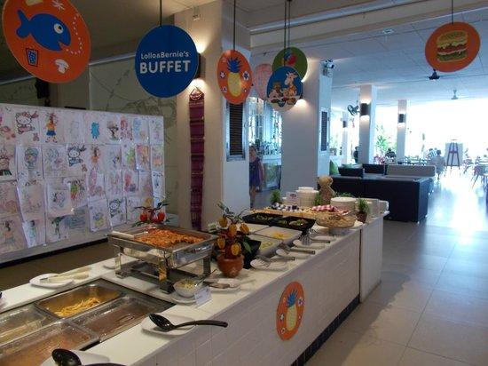 Sunwing Kamala Beach : buffet