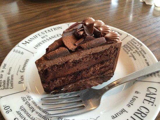 Chez BIGOT: チョコレートケーキ
