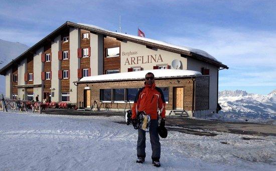 Berggasthaus Arflina: Main front