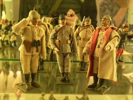 Nuremberg Toy Museum (Spielzeugmuseum): солдатики
