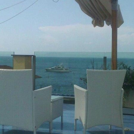 Hotel del Mare: На террасе отеля