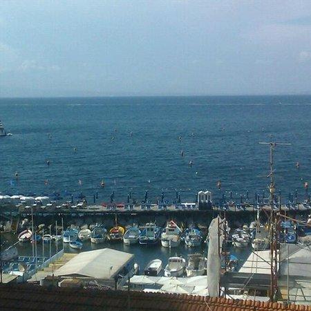 Hotel del Mare: Вид на море, открывающийся с террасы