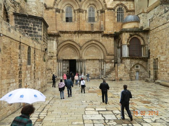 Iglesia del Santo Sepulcro: главные ворота