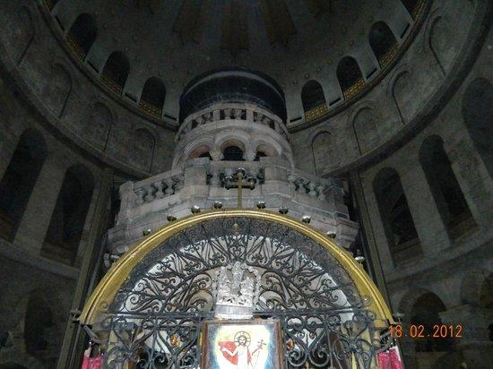Église du Saint-Sépulcre (Jérusalem) : гроб господень