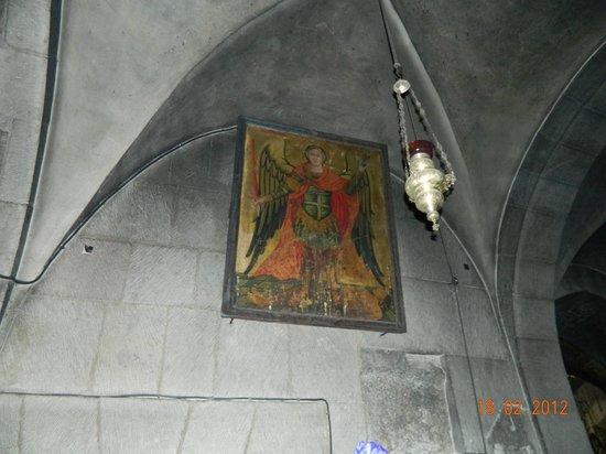 Église du Saint-Sépulcre (Jérusalem) : ангел