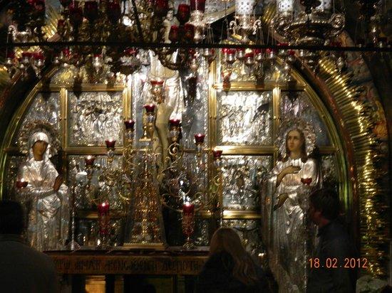 Église du Saint-Sépulcre (Jérusalem) : иконостас