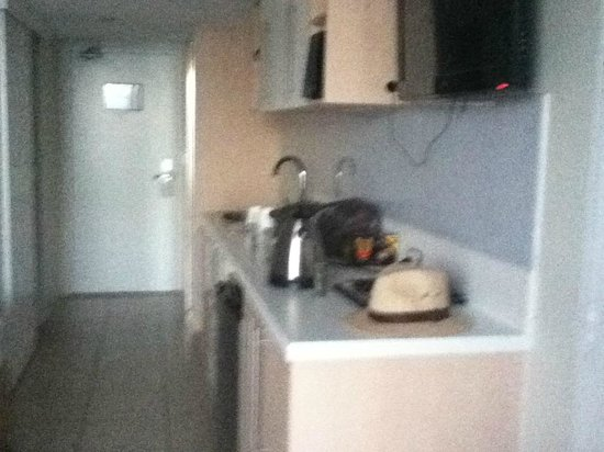 Aquarius on the Beach: Kitchen Area in Room 1111.
