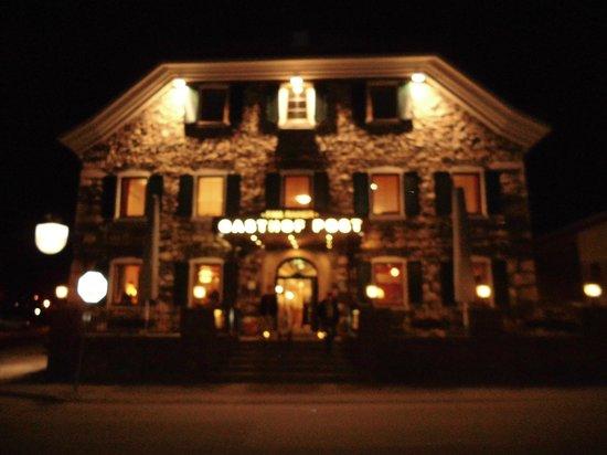 Gasthof Hotel Post: beleuchtet