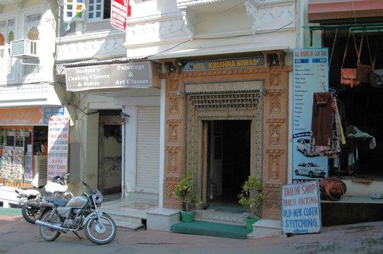 Hotel Krishna Niwas: Отель