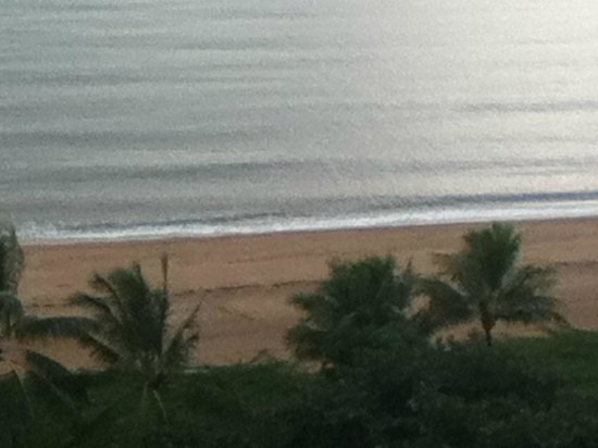 Aquarius on the Beach:  The View from Room 1111.