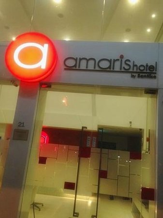 Amaris Hotel : Hotel entrance