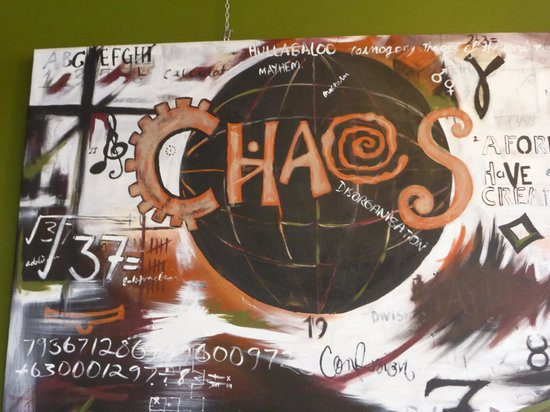 Chaos Cafe: Great food