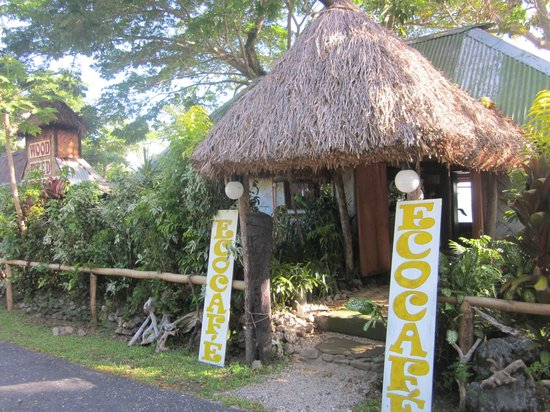 Front entrance to Eco Cafe