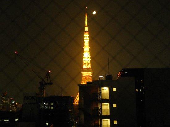 Hotel MyStays Hamamatsucho : Tokyo Tower, from 10th Floor room