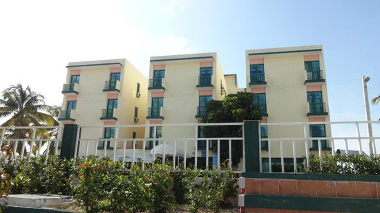 Hotel Los Delfines: Smallest rooms possible - 2 of these rooms make up one Superior Ocean view room, directly behind
