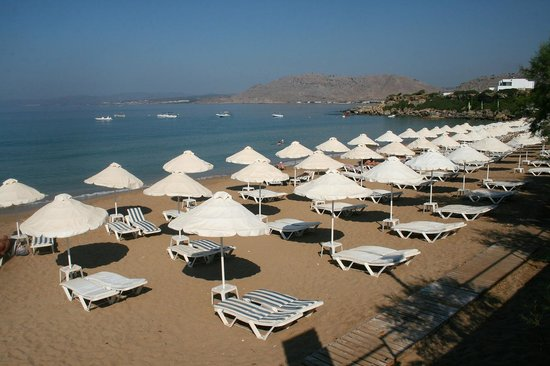 Pefkos Beach: 1