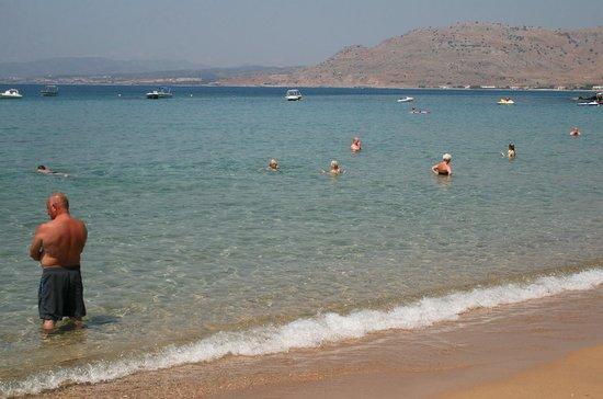 Pefkos Beach: 3