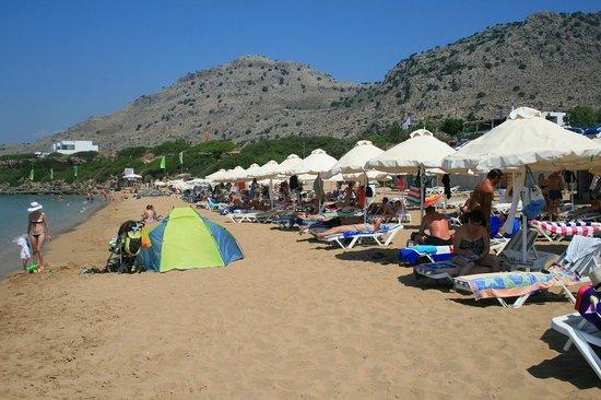 Pefkos Beach: 5