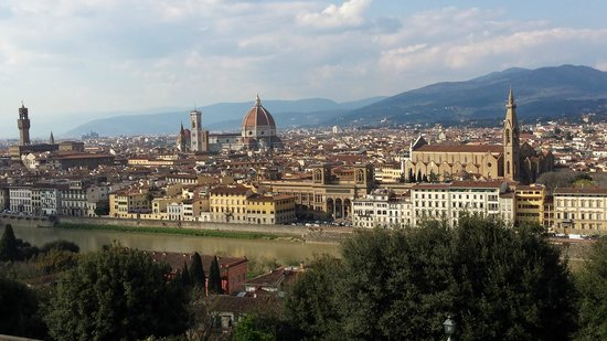 UNA Palazzo Mannaioni: Florence vue des hauteurs de la ville à 1h de Montaione