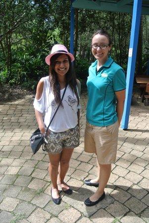 Currumbin Wildlife Sanctuary: MissMalini and Sam