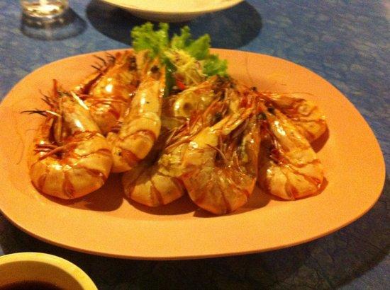 Lanta Seafood: King prawns
