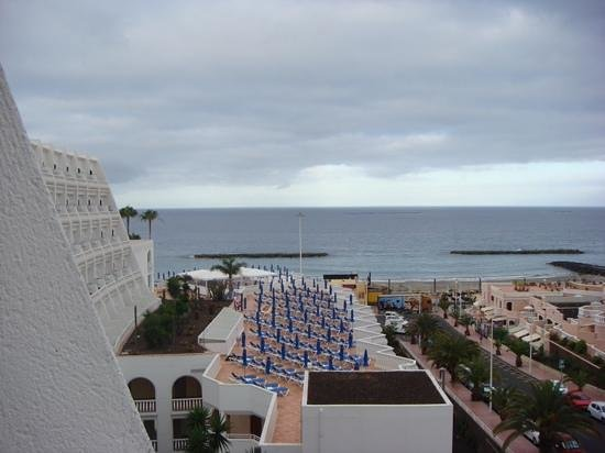 Guayarmina Princess Hotel: view from our balcony