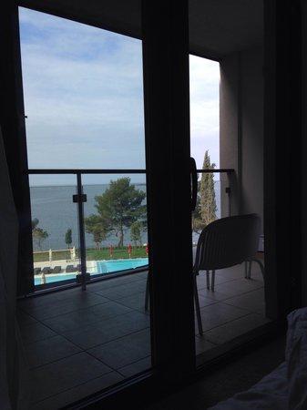 Hotel Laguna Parentium: View from bed :)